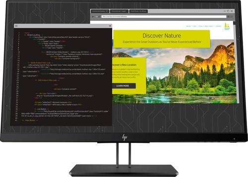 HP Z24NF G2 Narrow Bezel IPS Display - Aspect ratio 16:9 Res 1920x1080 Ports 1x ...