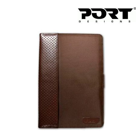*PORT CANCUN UNIVERSAL TAB CASE 10.1 BROWN
