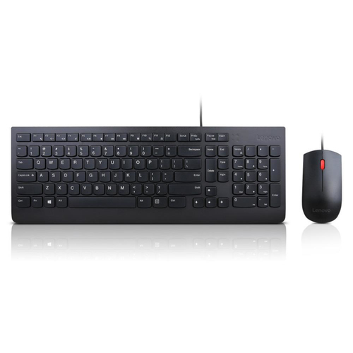 Lenovo Essential Wired Keyboard and Mouse Combo (US english)