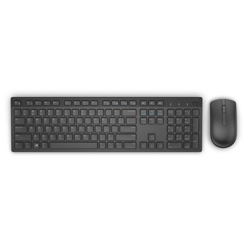 Keyboard & Mouse : US/Euro (QWERTY) KM6 Dell Wireless Keyboard Black &...