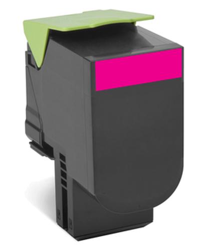 LEXMARK 808M CS310 / CX410 / CX510 Magenta Return Program Toner Cartridge
