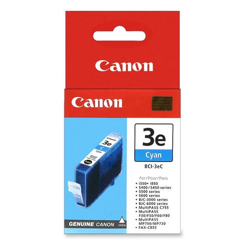CANON - INK CYAN - BJC-3000 / BJC-6000 SERIES / S-400 / 450 / 500 / 520 / 530D /...