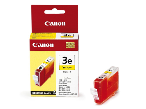 CANON - INK YELLOW - BJC-3000 / BJC-6000 SERIES / S-400 / 450 / 500 / 520 / 530D...