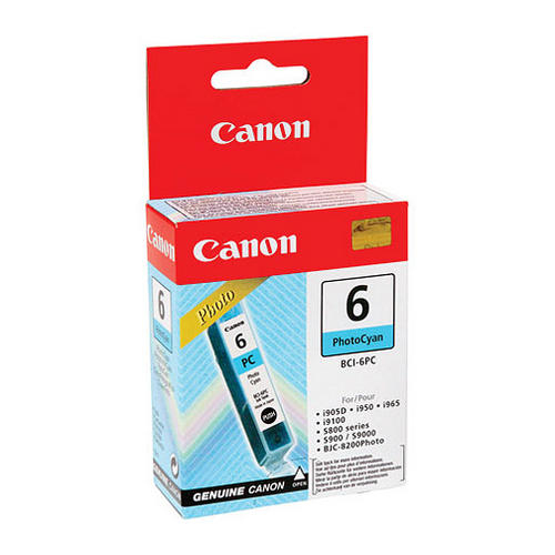 CANON - INK PHOTO CYAN - BJC-8200 / S800 / 820 / 820D / 830D / 900 / 9000 / I910...