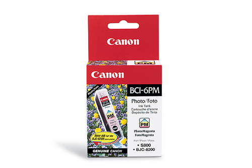 CANON - INK PHOTO MAGENTA - BJC-8200 / S800 / 820 / 820D / 830D / 900 / 9000 / I...