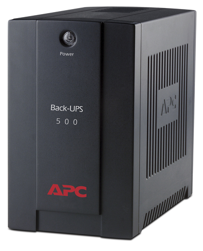 APC Back-UPS 500VAAVR IEC outlets EU Medium