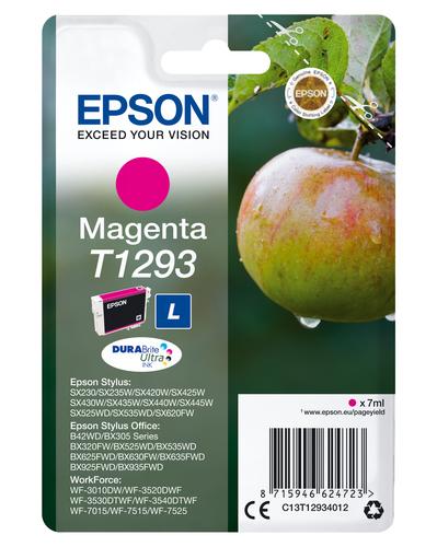 EPSON - INK - T1293 - MAGENTA - APPLE - STYLUS SX425W / SX525WD / BX305F / BX320...