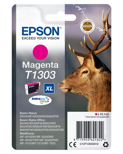 EPSON - INK - T1303 - MAGENTA - STAG - STYLUS B42WD / BX625FWD