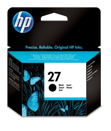 HP # 27 BLACK INKJET PRINT CARTRIDGE.