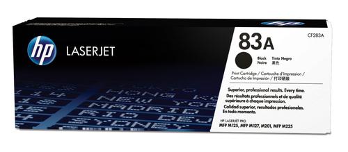 HP # 83A LASERJET M127/M225/M201 BLACK PRINT CARTRIDGE.