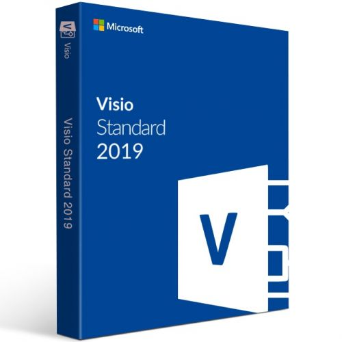 Visio Std 2019 - FPP - NEW!!