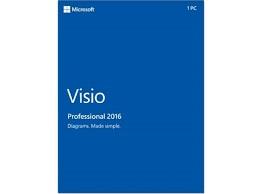 Visio Pro 2016 DVD - FPP - Last Stock