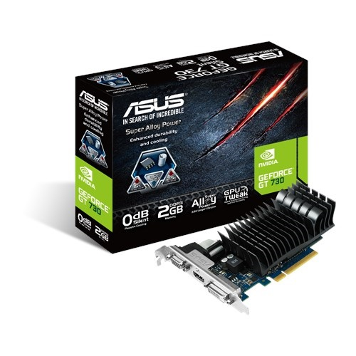 price of ASUS GEFORCE GT 730 2GB LOW PROFILE GRAP on ShopHub | ecommerce, price check, start a business, sell online