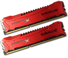 price of 16GB 1866MHz DDR3 CL9 DIMM (Kit of 2) XMP HyperX Savage Red on ShopHub   ecommerce, price check, start a business, sell online