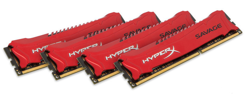 price of 32GB 1866MHz DDR3 CL9 DIMM (Kit of 4) XMP HyperX Savage Red on ShopHub   ecommerce, price check, start a business, sell online