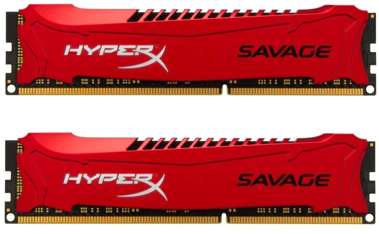 price of 16GB 2133MHz DDR3 CL11 DIMM (Kit of 2) XMP HyperX Savage Red on ShopHub   ecommerce, price check, start a business, sell online