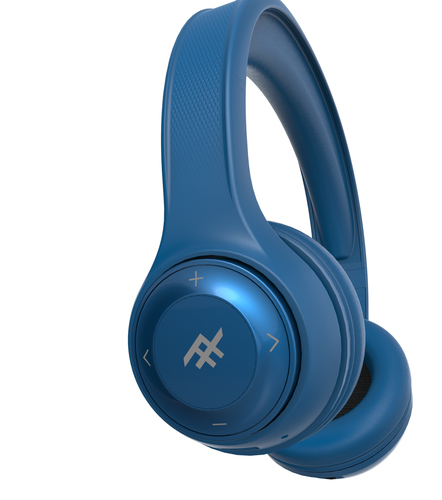 price of IFROGZ AURORA DJ WIRELESS HEADPHONE - BLUE on ShopHub | ecommerce, price check, start a business, sell online