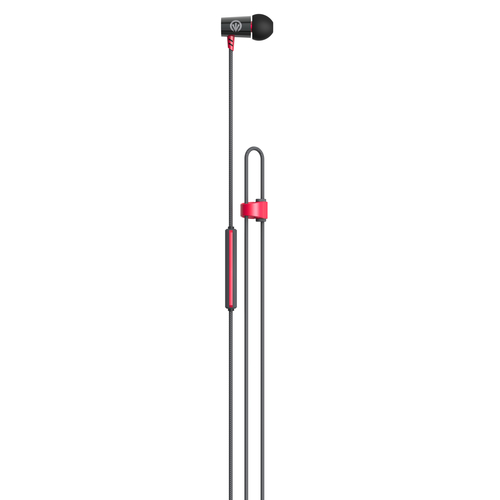 IFROGZ LUXE AIR-EARBUDS WITH MIC - RED