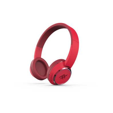 IFROGZ CODA WIRELESS HEADPHONE - RED