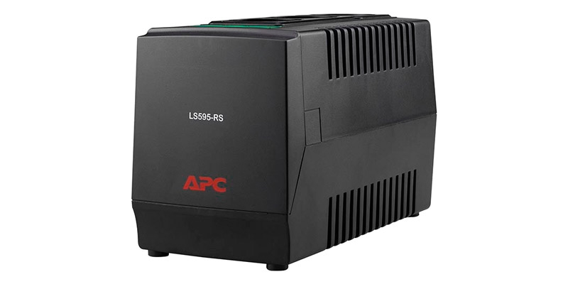 APC Line-R 600VA Automatic Voltage Regulator 3 Schuko Outlets 230V