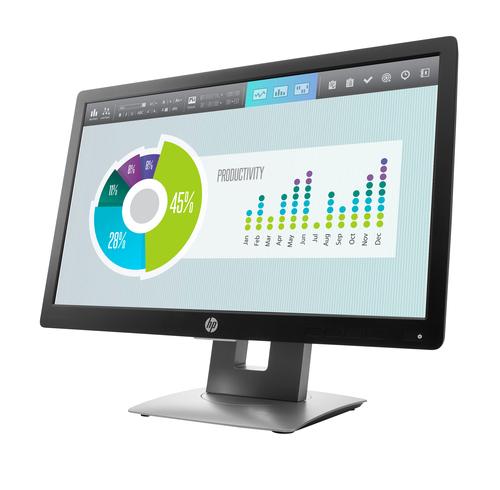 HP Elite Display E202 20-inch Monitor - Aspect ratio 16:9 Res 1600x900 Ports 1x ...