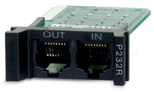REPLACEABLE RACKMOUNT 1U RS232 SURGE PROTECTION MODULE