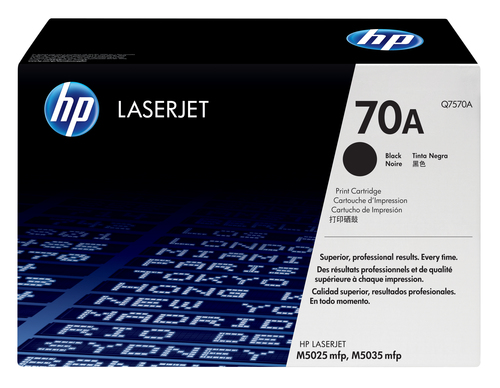 HP # 70A LASERJET M5025/M5035 MFP BLACK PRINT CARTRIDGE.
