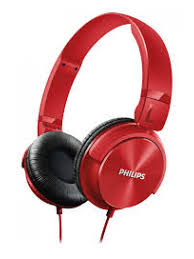 price of PHILIPS SHL3265 HP W/MIC - RED on ShopHub | ecommerce, price check, start a business, sell online