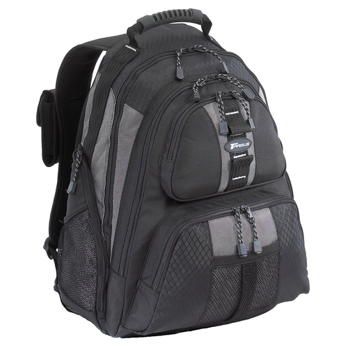 TARGUS - SPORTS N/BOOK BACKPACK 15.4 - 16 BLACK & PLATINUM